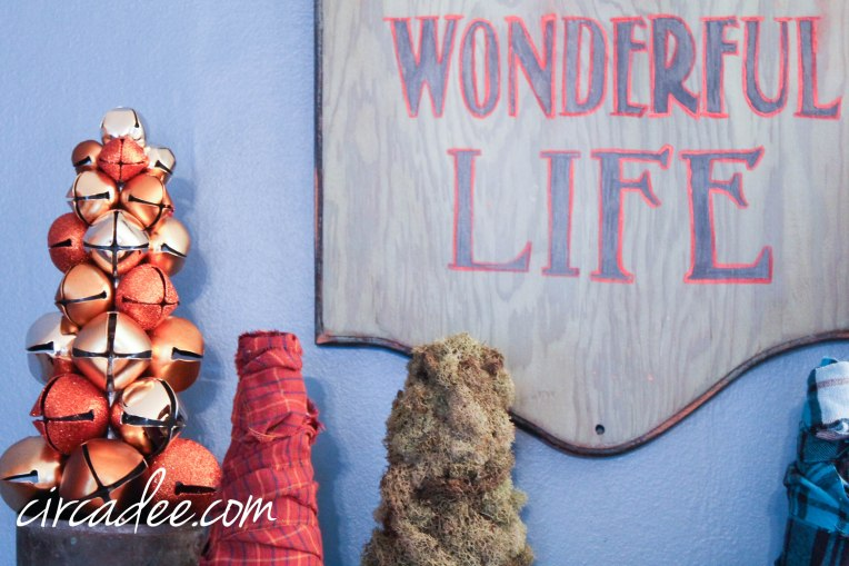 wonderful life sign painted with miss mustard seed's milk paint by circa dee