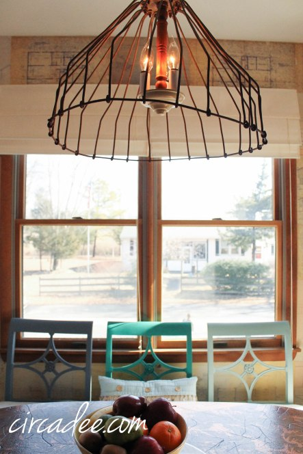 Industrial Galvanized Pendant Light