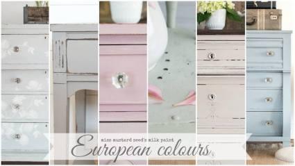 European colors