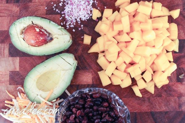 Superfood Quesadilla Recipe - avocado mango black beans