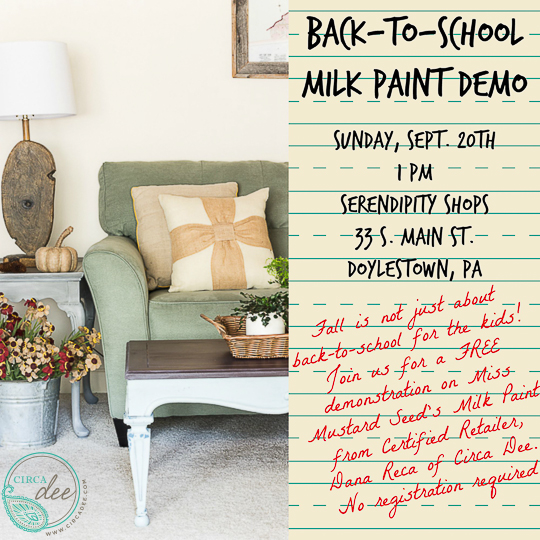 Milk Paint Demo Sept-