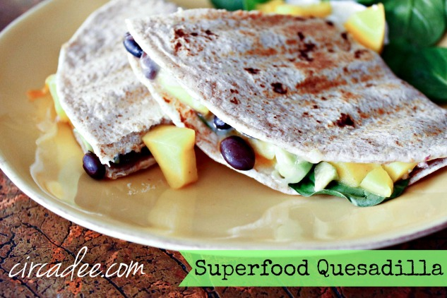 Superfood Quesadilla Recipe