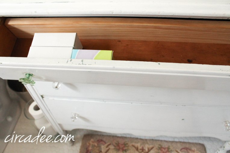 How to Turn a Dresser Into a Vanity...and not loose any drawers