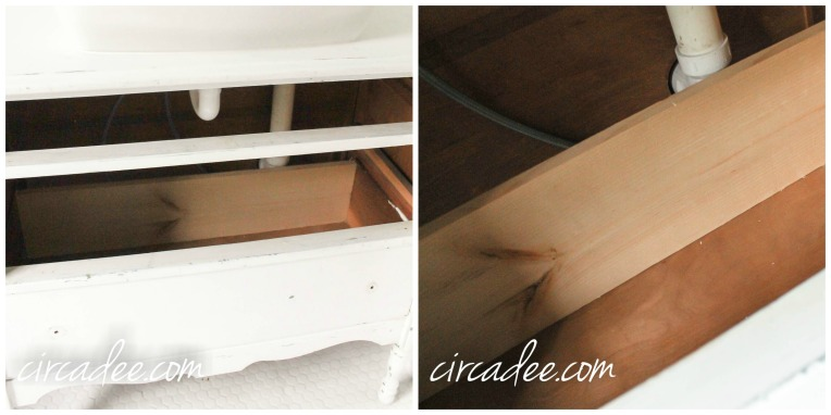 Custom Drawers - How to Turn a Dresser Into a Vanity