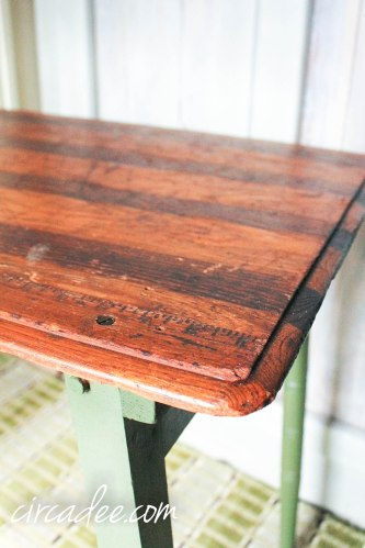 Boxwood Sewing Table-3544
