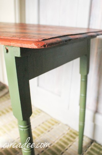 Boxwood Sewing Table-3546