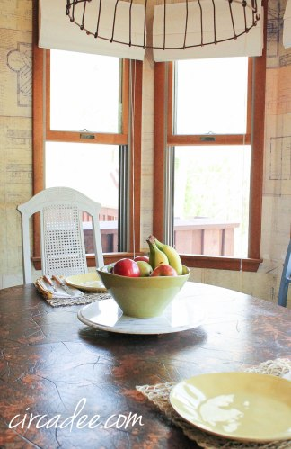 grainsack milk paint dining chairs