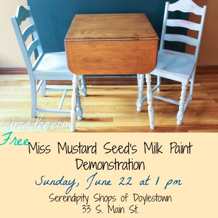 free MMS milk paint demo