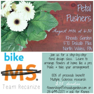 Petal Pushers Bike MS Fundraiser