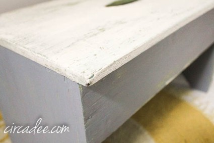 #mmsmp ironstone & shutter gray milk paint stool-4310