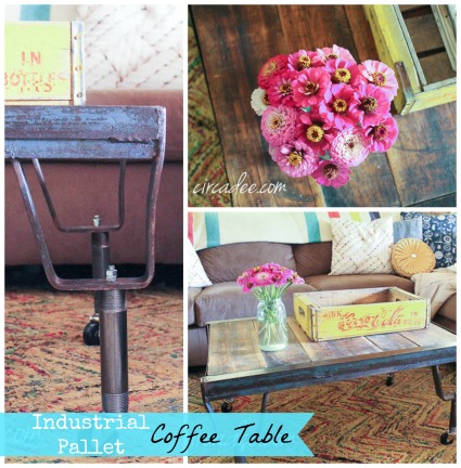 Industrial Pallet Coffee Table by Circa Dee