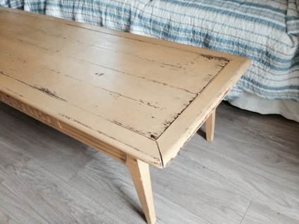Mustard Seed Yellow Coffee Table