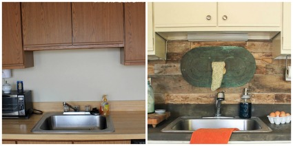 From 80's Laminate to Rustic Kitchen