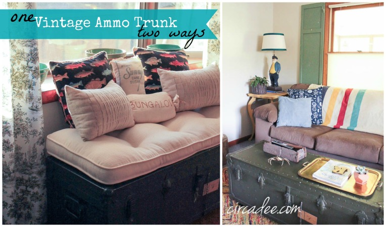 Vintage Ammo Trunk