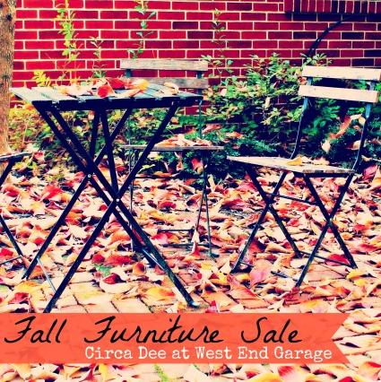 Fall Furniture Sale