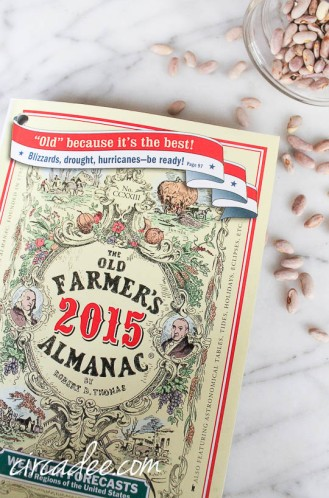 The Old Farmer's Almanac 2015 now available at The West End Garage