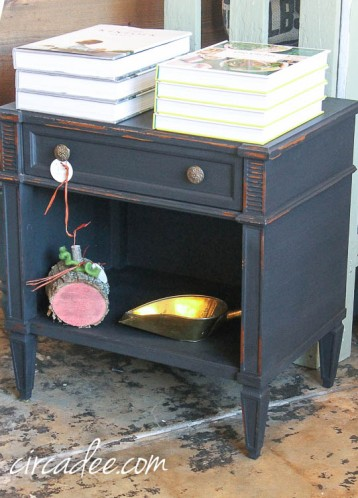 Typewriter night stand-4875