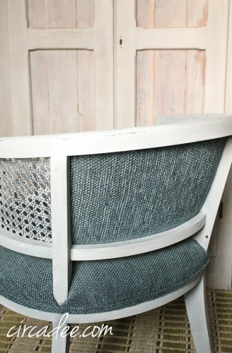 barrel back caned chair-5047