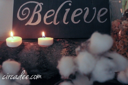 believe Christmas sign-5255