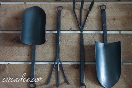 forged iron tools