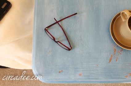 french enamel table-5565