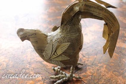paper chicken