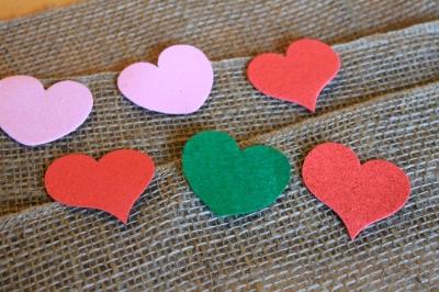 hearts + roses