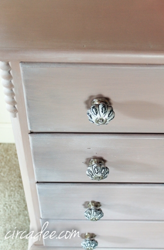 Arabesque Dressser- porcelain knobs