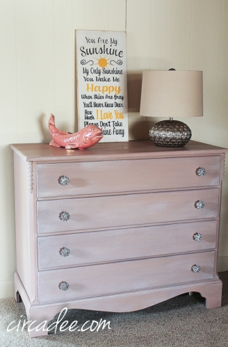 Arabesque Dressser- Miss Mustard Seed's Milk Paint
