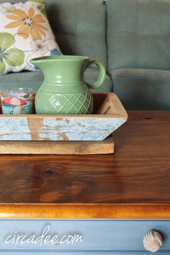 Cottage Living-Barnwood Tray