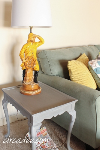 Old Salt Ship Captain Lamp