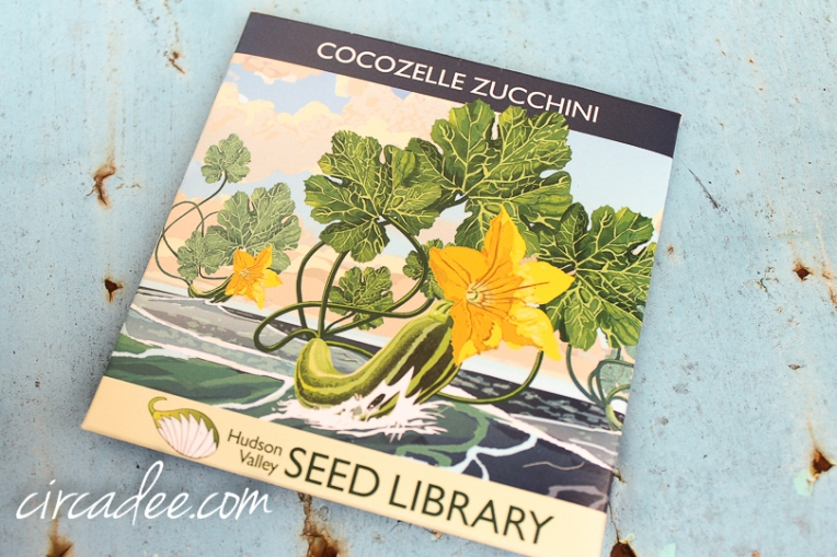 Heirloom Zucchini seeds