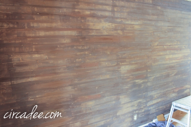 creating a driftwood-look wall-5840