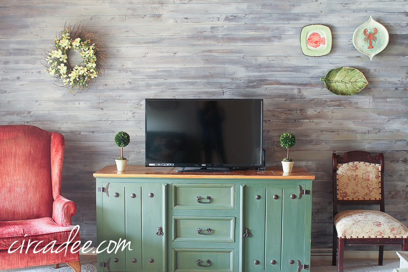 Driftwood Inspired Wall