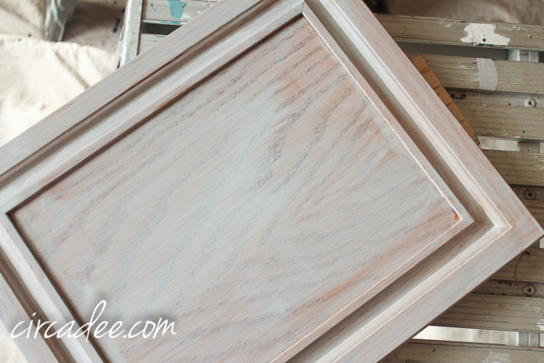 how to milk paint oak cabinets-5804