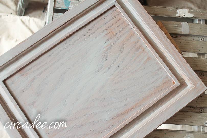 How To Milk Paint Oak Cabinets 5804