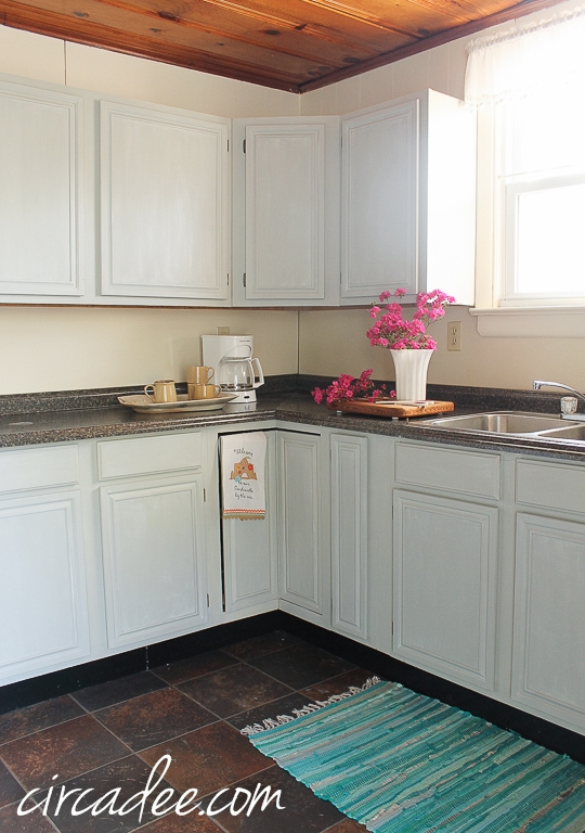 How To Milk Paint Oak Cabinets Circa Dee