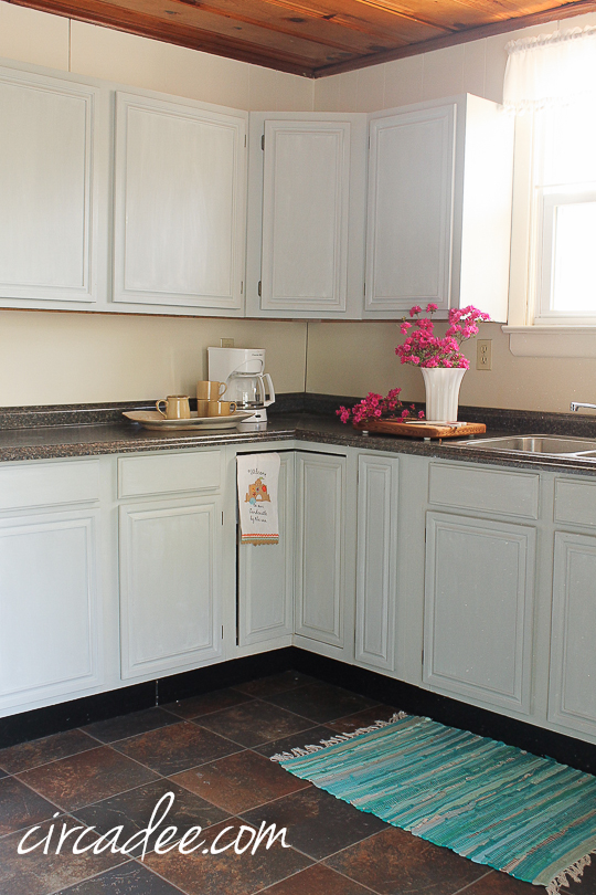 how to: milk paint oak cabinets – Circa Dee