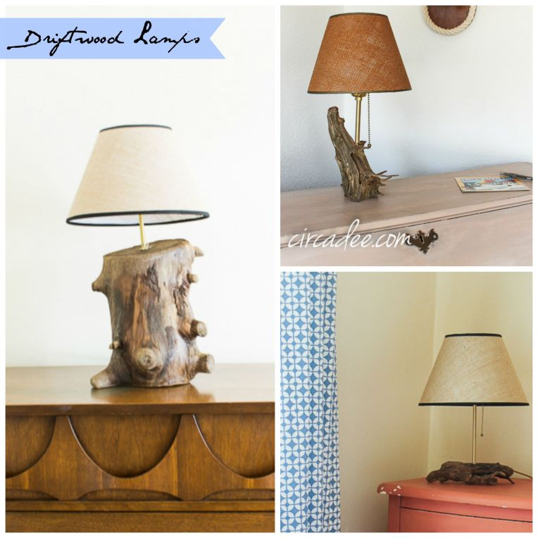 Driftwood Lamp Collection 3