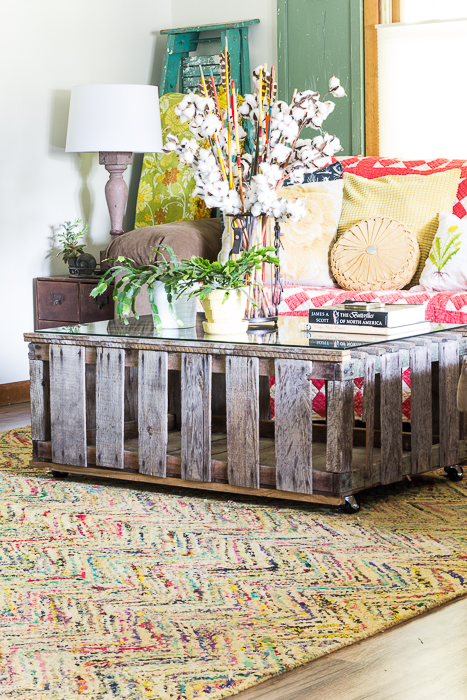 chicken coop coffee table-148
