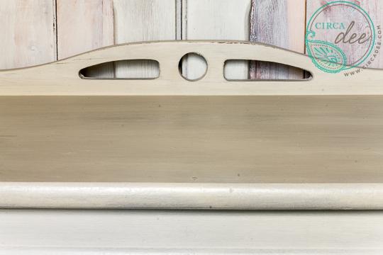 Schloss Milk Paint Telelphone Table- the nomenclature #mmsmp