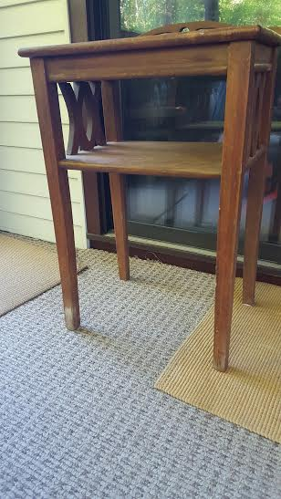 telephone table before