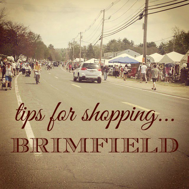 tips for shopping Brimfield
