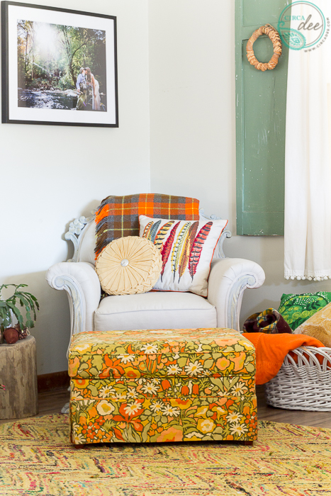 Linen Arm Chair Fall Living Room + CanvasPop Giveaway-7796