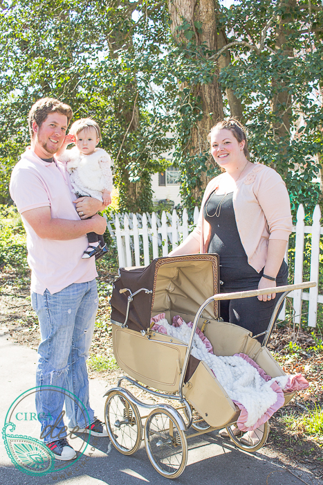 using vintage pram for a 1st birthday photoshoot-8149