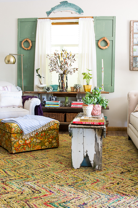 collected boho living room-489