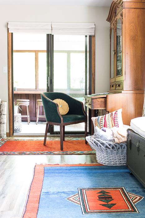 bohemian style living room kilim rugs-511